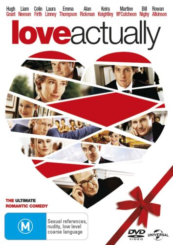 Love Actually DVD Region 4 NEW