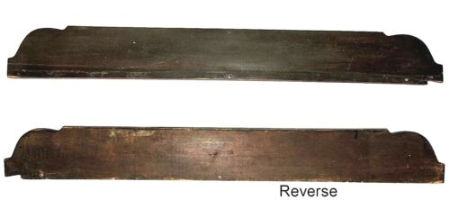 "Part- Backsplash for chest, Federal, Sheraton, Empire, mahoganized, c1820, 43""w"