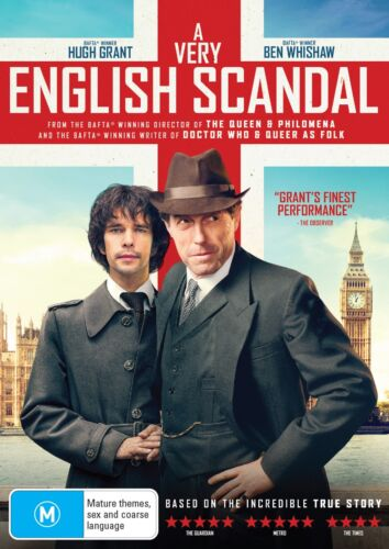 A Very English Scandal DVD Region 4 NEW