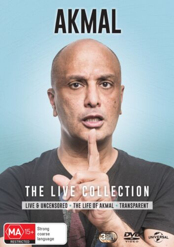 Akmal The Live Collection Box Set DVD Region 4 NEW