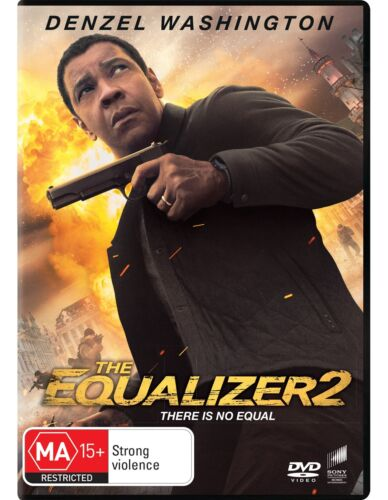 The Equalizer 2 DVD Region 4 NEW