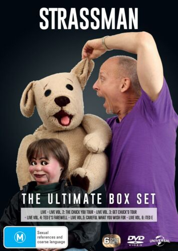 Strassman The Ultimate Collection Box Set DVD Region 4 NEW