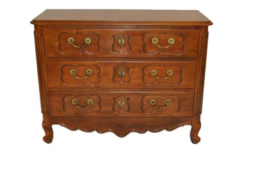 FRENCH COUNTRY CHERRY 3 DRAWER CHEST BY HENREDON REGISTRY