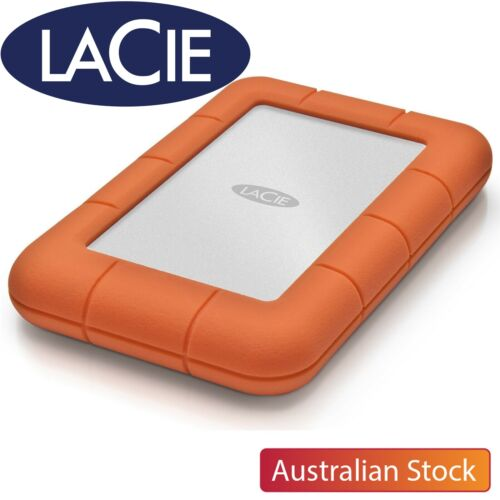 LaCie Porsche Design Rugged 1TB 2TB 4TB 6TB 8TB Portable External Hard Drive HDD