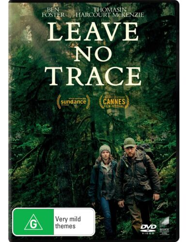 Leave No Trace DVD Region 4 NEW