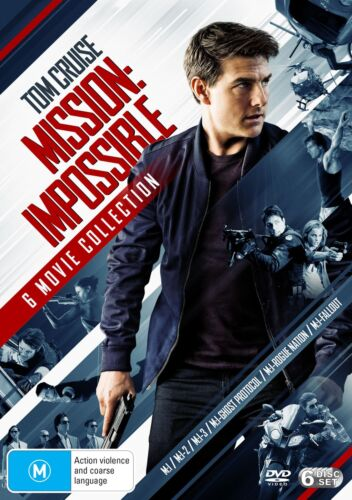 Mission Impossible The 6 Movie Collection Box Set DVD Region 4 NEW