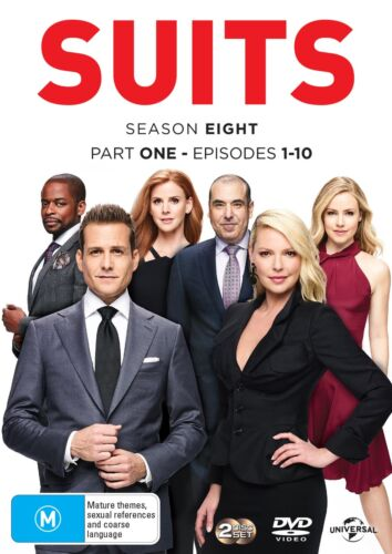 Suits Season Eight Part One DVD Region 4 NEW