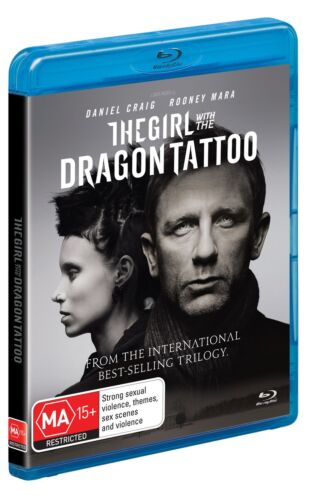 The Girl With the Dragon Tattoo Blu-ray Region B NEW