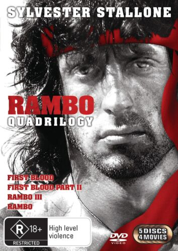 Rambo The Complete Collection DVD Region 4 NEW