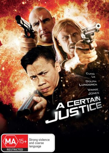A Certain Justice DVD Region 4 NEW