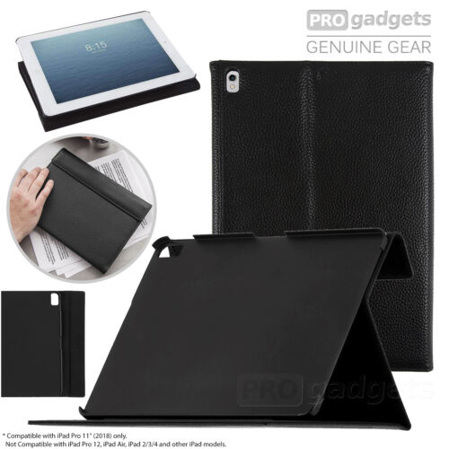 Genuine CaseMATE Venture Folio Stand Hard Cover for Apple iPad Pro 11 2018 Case