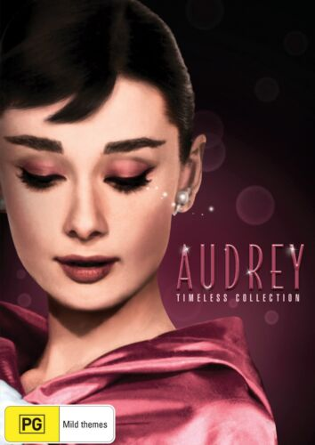 Audrey Hepburn Timeless Collection Box Set DVD Region 4 NEW