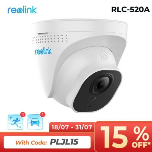 5MP PoE IP Security Camera Outdoor Clear Night Vision Home Surveillance RLC-520