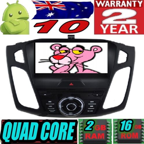 """ANDROID 10  FORD FOCUS 2015+ 9"""" HD AUTO RADIO DVD GPS CAR USB WIFI STEREO 3G SD"""