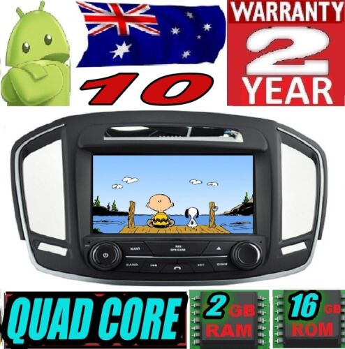 """ANDROID 10 OPEL INSIGNIA 2014 AUTO MOVIL RADIO DVD GPS CAR STEREO WIFI 8"""" HD 3G"""