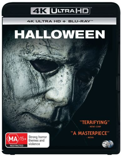 Halloween 4K Ultra HD Blu-ray Digital Download UHD Region B NEW