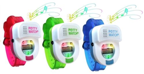Potty Watch Toddler Toilet Training Aid Timer Reminder With Lights and Music
