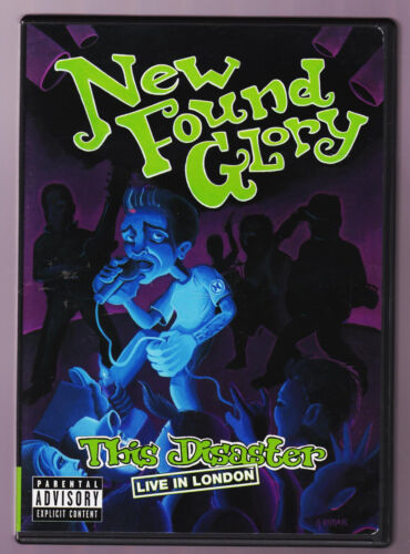 New Found Glory The Disaster Live In London (DVD) Music Region 4