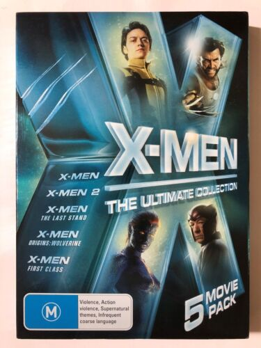 X-Men: The Ultimate Collection [M] (5 DVD, 2000-2011, R4)