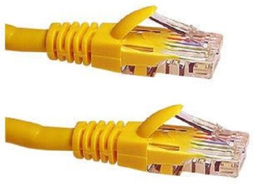 Access Communication CAT-6 ETHERNET PATCH CABLE Yellow*Aust Brand- 3m, 4m Or 5m