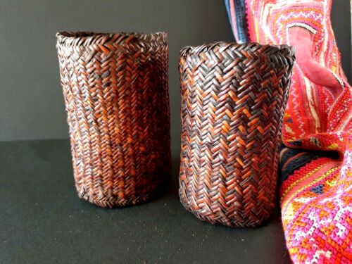 Old Papua New Guinea Highlands Woven Arm Bands (a)  …beautiful collection Set