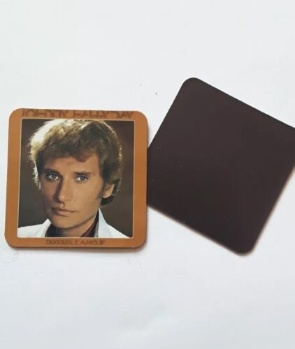 """Magnets Johnny Hallyday collection """"Derrière l'amour """""""