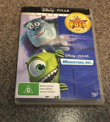 Monsters, Inc. (DVD, 2010, 2-Disc Set) classic