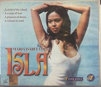 ISLA (1985) VCD Classic Movie Rare Maria Isabel Lopez