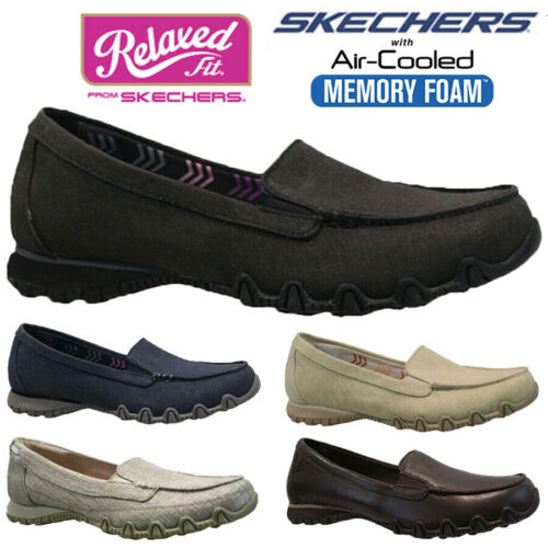 LADIES SKECHERS MEMORY FOAM LIGHTWEIGHT WALKING BALLET PUMPS TRAINERS SHOES NEW <br/> RELAXED FIT......AIR-COOLED MEMORY FOAM......RRP £49.95