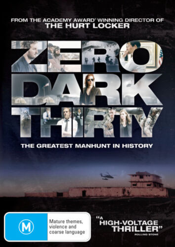 Zero Dark Thirty  - DVD - NEW Region 4, 2