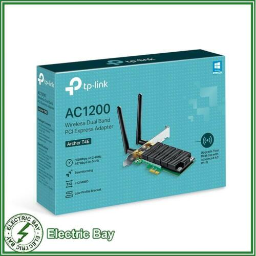 TP-Link Archer T4E AC1200 Wireless Dual Band PCI Express Desktop Network Adapter