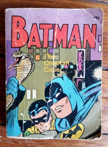 VINTAGE RETRO BATMAN THE CHEETAH CAPER 1969 BIG LITTLE BOOK WHITMAN COLLECTABLE