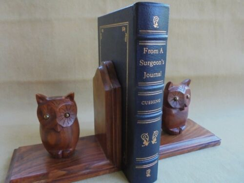 FROM A SURGEONS JOURNAL 1915 - 1915 CUSHING WW 1 LEATHER BOUND 1st ED 1936 FACS
