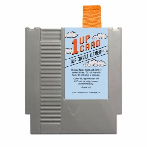 Nintendo (NES) Console Cleaning Cartridge - 1Up Card