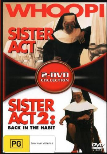 Sister Act / Sister Act 2: Back in the Habit (2-DVD Collec  - DVD - NEW Region 4