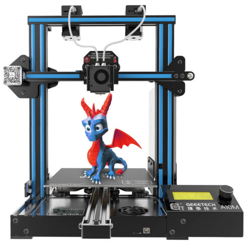 3D PrInter A10M Geeetech  2 in 1 out Extruder with Filament Detector