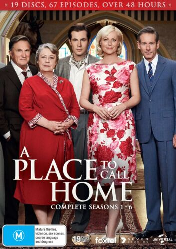 A Place to Call Home Complete Series 1 Season One to Six Box Set DVD Region 4