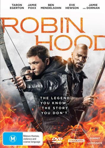 Robin Hood DVD Region 4 NEW