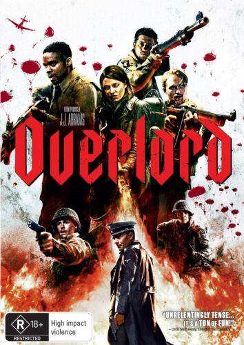 Overlord DVD Region 4 NEW