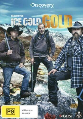 Ice Cold Gold: Season 2 (Discovery Channel)  - DVD - NEW Region 4
