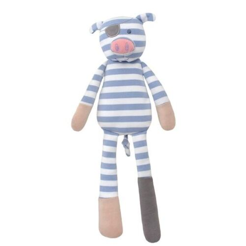 Baby Kid Organic Eco Soft Toy Pirate Pig Doll