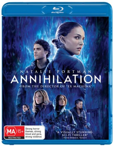 Annihilation Blu-ray Region B NEW