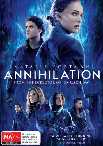 Annihilation DVD Region 4 NEW