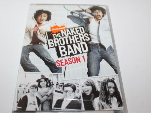 Nickelodeon The Naked Brothers Band Season 1 DVD Brand New Sealed