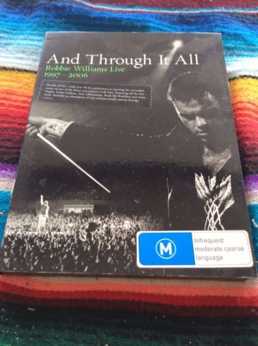 DVD.AND THROUGH IT ALL.ROBBIE WILLIAMS.1997-2006