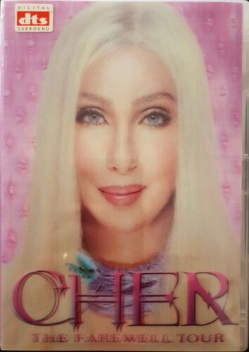 Cher: The Farewell Tour (DVD) Holographic Edition Region ALL Very Good Condition
