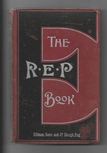 vintage health, first aid, The R.E.P Book, (Rubbing Eases Pain)