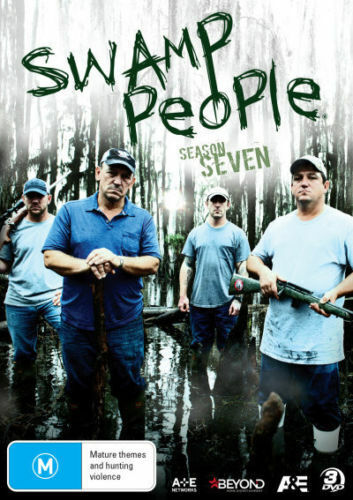 Swamp People : Season 7 (DVD, 2016, 3-Disc Set) - Region 4