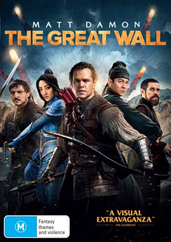 The Great Wall DVD Region 4 NEW