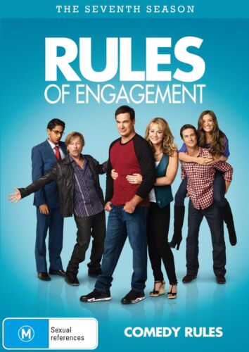Rules of Engagement The Seventh Season 7 DVD Region 4 NEW